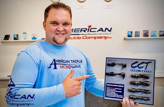THERON ASBERY JOINS AMERICAN TACKLE COMPANY STAFF - New Fishing Industry Jobs & Hiring Announcement